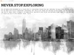 Never.Stop.Exploring