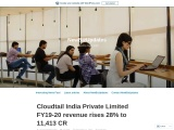 Cloudtail India Private Limited FY19-20 revenue rises 28% to 11,413 CR
