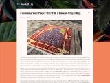 Thick Prayer Mat – New Turkish Prayer Mats For Muslims!