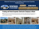 Framing contractor | Framing Carpenter | Winslow Waterville, ME | Newman Homes