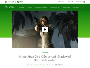 Inside Xbox One X Enhanced: Shadow of the Tomb Raider - Xbox Wire