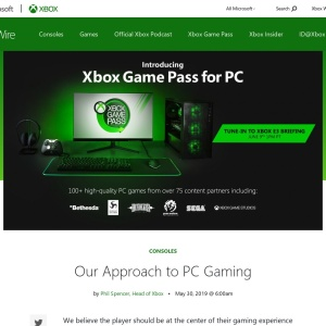 Our Approach to PC Gaming - Xbox Wire