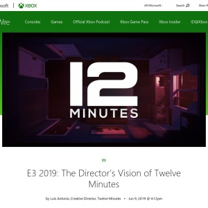 E3 2019: The Director's Vision of Twelve Minutes - Xbox Wire