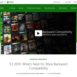 E3 2019: What's Next for Xbox Backward Compatibility - Xbox Wire