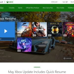 May Xbox Update Includes Quick Resume Improvements, Passthrough Audio, and More - Xbox Wire