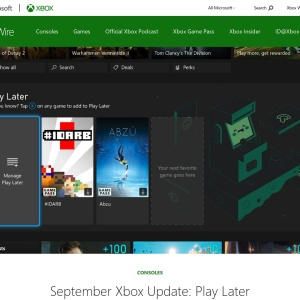 September Xbox Update: Play Later Discovery, Updated Microsoft Edge, and More - Xbox Wire