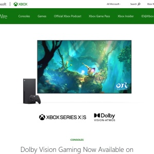 Dolby Vision Gaming Now Available on Xbox Series XIS - Xbox Wire