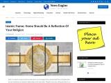 Islamic Wall Art – Beautiful Islamic Wall Frame Online Shop UK!