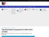 Top Animation Companies in New York