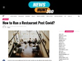 How to Run a Restaurant Post Covid Easy Food Handlers