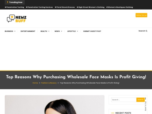 Face Cover – How Much Can Be Earned By Wholesale Face Masks!