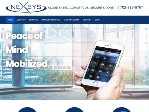 Nexsys Cloud Based Commercial Security