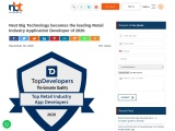 TopDeveloper.co Listed Next Big Technology as the leading Retail Industry App Developers 2020