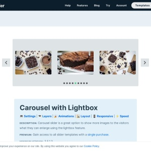 Carousel with Lightbox Slider — Smart Slider 3 — WordPress Plugin