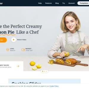 Cooking Slider — Smart Slider 3 — WordPress Plugin
