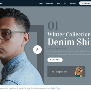 Fashion Slider — Smart Slider 3 — WordPress Plugin