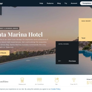 Full Page Hotel — Smart Slider 3 — WordPress Plugin