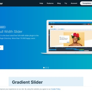 Free full width gradient slider — Smart Slider 3 — WordPress Plugin