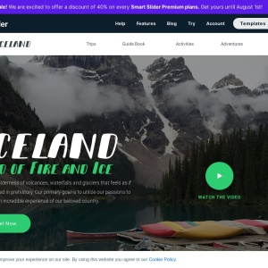 Iceland Adventure Group — Smart Slider 3 — WordPress Plugin