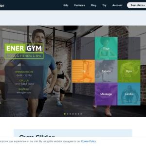 Gym Slider — Smart Slider 3