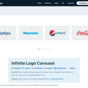 Infinite Logo Carousel — Smart Slider 3 — WordPress Plugin