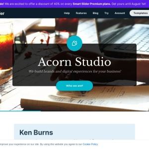 Ken Burns — Smart Slider 3 — WordPress Plugin