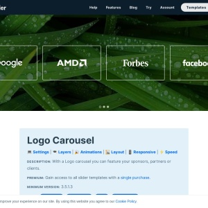 Logo Carousel — Smart Slider 3 — WordPress Plugin
