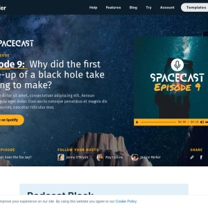 Podcast Block — Smart Slider 3 — WordPress Plugin