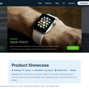 Product Showcase — Smart Slider 3 — WordPress Plugin