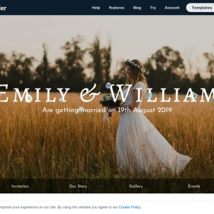 Wedding Page — Smart Slider 3 — WordPress Plugin