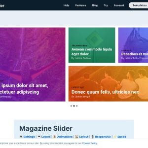 WordPress Magazine Slider — Smart Slider 3 — WordPress Plugin