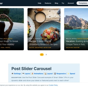 WordPress Post Slider Carousel — Smart Slider 3 — WordPress Plugin
