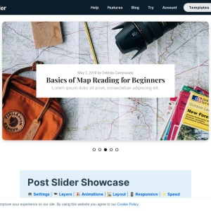 WordPress Post Slider Showcase — Smart Slider 3 — WordPress Plugin