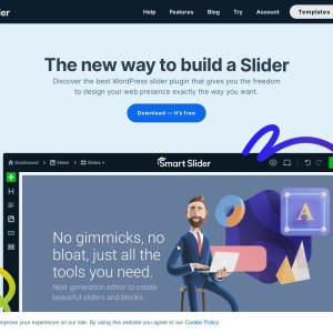 Smart Slider — The best way to build your next WordPress slider plugin