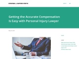 Hire personal injury lawyer to get accurate Compensation easily