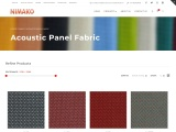 Acoustic Panel Fabric- Nimako Synthetics