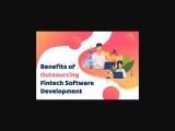 Benefits of Outsourcing FinTech Software Development