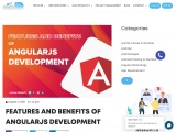 Features and Benefits of Angularjs Development