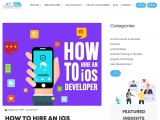 How to hire an iOS Developer in India