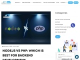 Nodejs vs PHP: Which is best for Backend Development