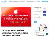 Factors to Consider before Outsourcing iOS App Development