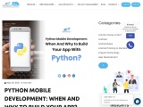 Python Mobile Development: When And Why to Build Your App?