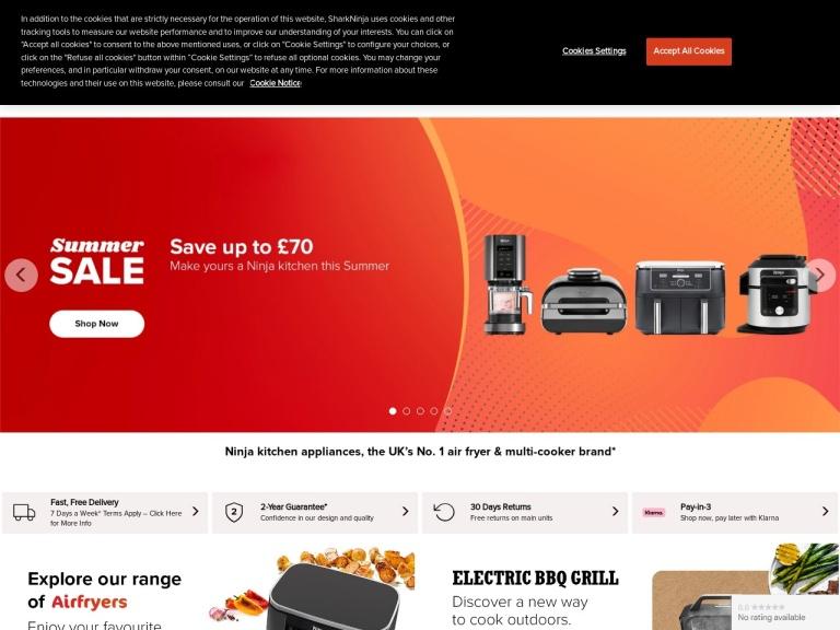 Ninja Kitchen Discount Codes screenshot
