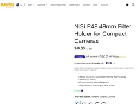 NiSi P49 49mm Filter Holder for Compact Cameras - NiSi Filters Australia