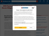 AMD Ryzen 5 2400G & Ryzen 3 2200G Raven Ridge review: MMO-kampioenen - Benchmarks: content creation (Adobe Lightroom, Photoshop en Premiere)