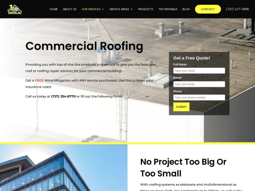 Commercial Roofing, Tampa, Florida