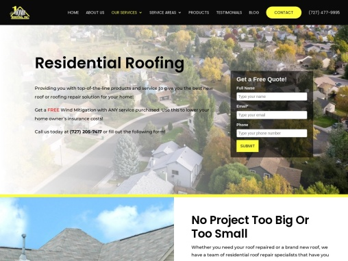Commercial & Residential Re-Roofing Services, Tampa, Florida