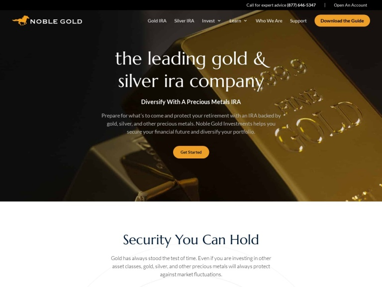 Noble Gold Investments screenshot