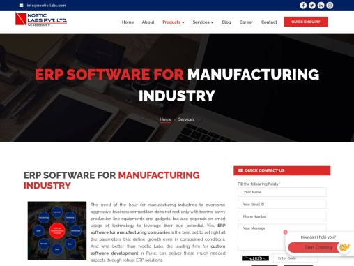 Best ERP Software For Manufacturing Industry in India