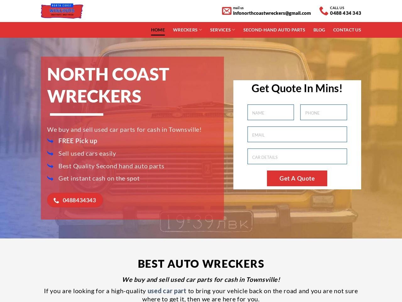 Top Mazda Wreckers Townsville Australia